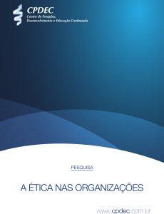 """Capa do whitepaper """"A ética nas organizações"""""""