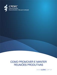 """Capa do whitepaper """"Como promover e manter reuniões produtivas"""""""